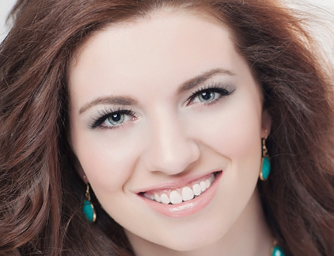 Tory Deluhery, the current Miss Keystone's Outstanding Teen, volunteers for Diakon Adoption & Foster Care