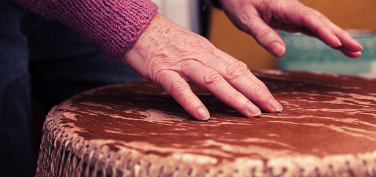 Diakon Senior Living residents enjoy drumming sessions