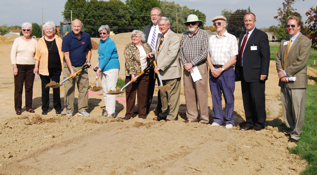 Buffalo Valley Lutheran Village breaks ground for expansion of independent living homes (Image 1)