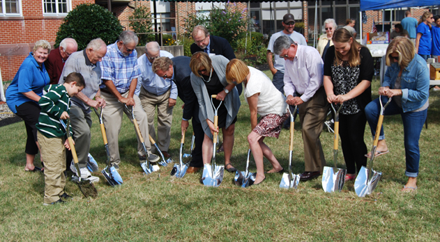 Groundbreaking honoring beginnings of Old Main launches renovation project (Image 1)