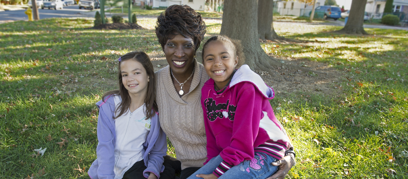 A diakon foster-to-adopt mother with two girls in her care.