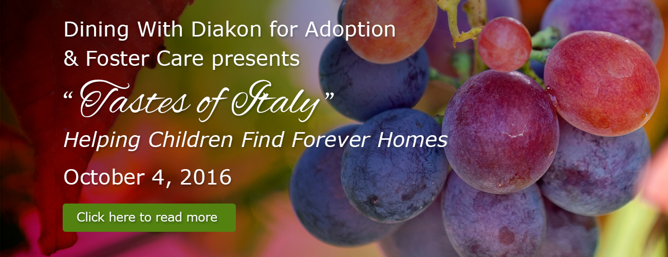 Dining with Diakon for Adoption & Foster Care