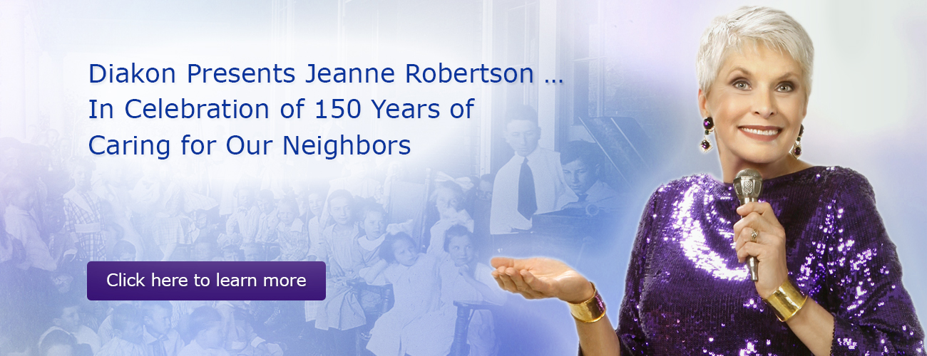 Diakon presents Jeanne Robertson - in celebration of 150 years of service