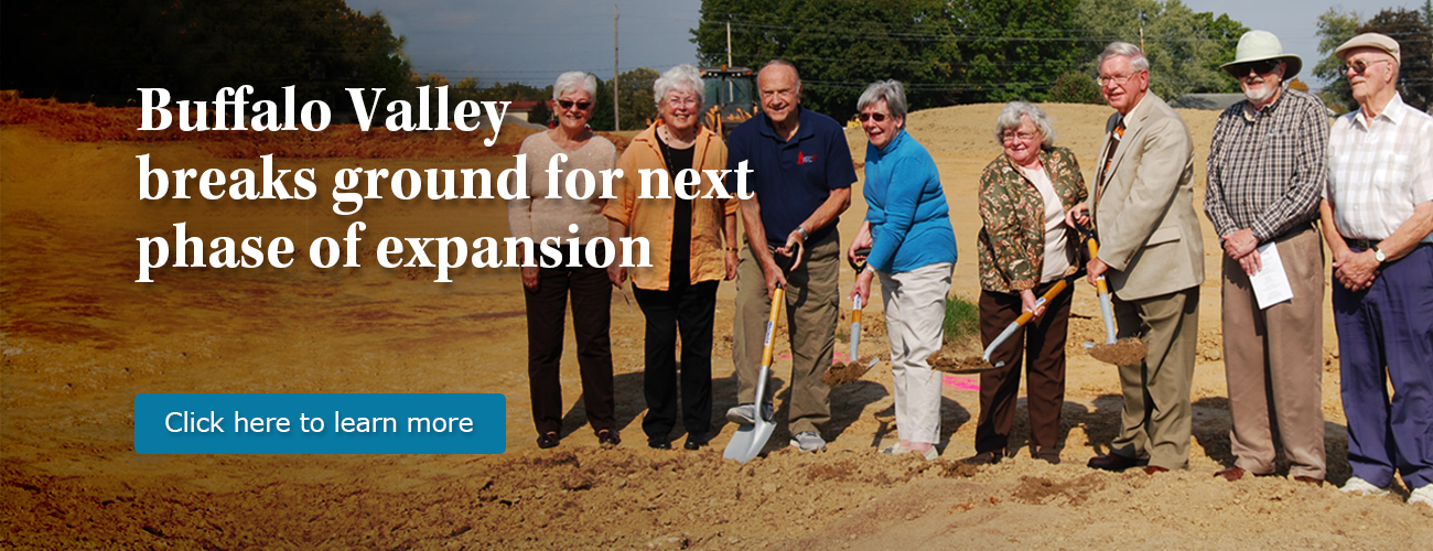Buffalo Valley breaks ground for new homes