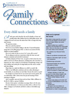A visual copy of Diakon's Family Connections newsletter.