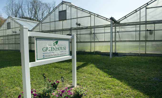 "The Diakon Wilderness Greenhouse is ""green"" not only because it produces plants, but also because it serves as an integral part of the wilderness center's wastewater-treatment system."